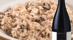 Risotto with radicchio and Roquefort
